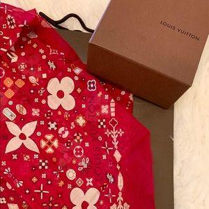 💯 Authentic Louis Vuitton Scarf Bandeau